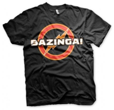 Big Bang Theory - Big Bang Theory T-shirt Bazinga Underground