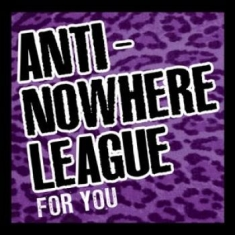 Anti-nowhere League - For You (Cd + Dvd)