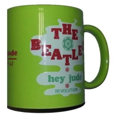 Beatles - Hey Jude green Boxed mug