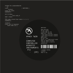 Aphex Twin - Computer Controlled Acoustic Inst P