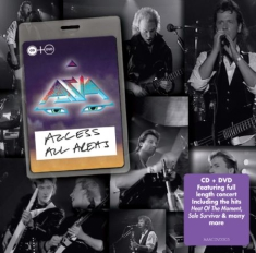 Asia - Access All Areas - Live (Cd+Dvd)