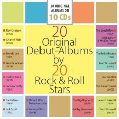 Blandade Artister - 20 Original Debut-Albums By 20 Rock