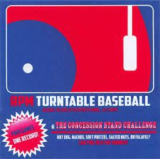 RPM Turntable Baseball - Two games, one.. (limited edition)