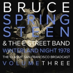 Springsteen Bruce - Winterland Night Vol.3
