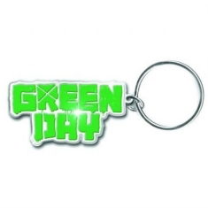 Green Day - Band logo keychain