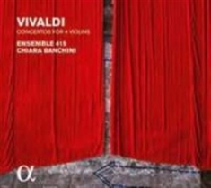 Vivaldi, Antonio - Concertos For Four Violins, Op. 3