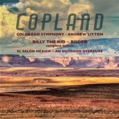 Copland, Aaron - Billy The Kid & Rodeo