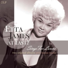 Etta James - At Last! / Sings For Lovers (2Lp)