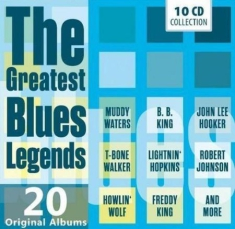 Blandade Artister - Greatest Blues Legends