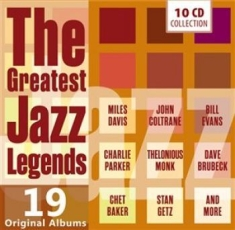 Blandade Artister - Greatest Jazz Legends
