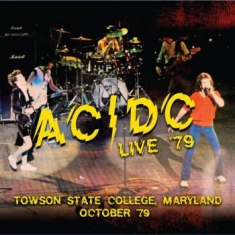 AC/DC - Towson State Collage 1979