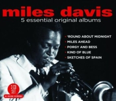 DAVIS MILES - 5 Essential Albums (Incl. Kind Of B