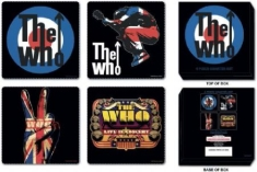 The Who - The Who Coaster set 4 piece set
