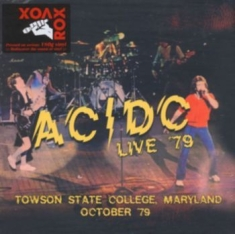 AC/DC - Live '79 - Towson State College 2Lp