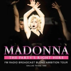 Madonna - Party's Right Here The 2 Cd (1990 B