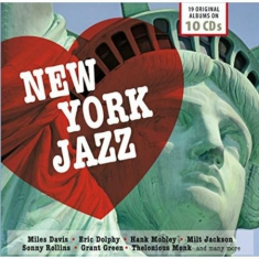 Blandade Artister - New York Jazz - 19 Original Album