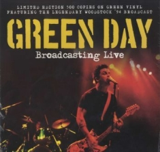 Green Day - Broadcasting Live (Green Vinyl)