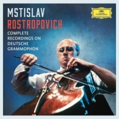 Rostropovich Mstislav - Complete Recordings (Ltd 37Cd)