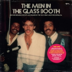 Blandade Artister - Men In The Glass Booth (+ Book)