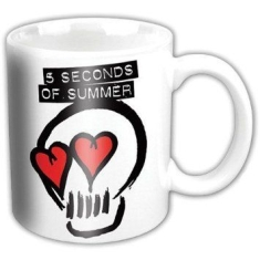 5SOS - Boxed mug: Logo white
