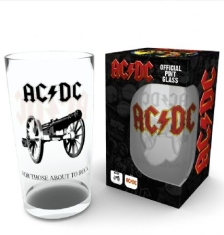 AC/DC - Pint glass