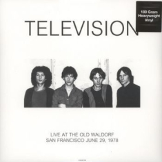 Television - Live At Old Waldorf In San Francisc