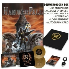 Hammerfall - Built To Last - Ltd. Wooden Box