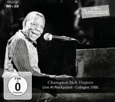 Dupree Champion Jack - Live At Rockpalast 1980 (2Cd+Dvd)