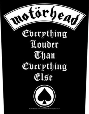 Motorhead - Back Patch Everything Louder