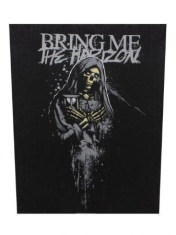 Bring Me The Horizon - Back Patch Horror Logo