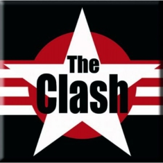 The Clash - Star logo Magnet