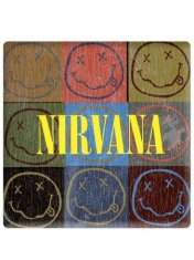 Nirvana - Smiley magnet