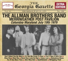 Allman Brothers Band - Merriweather Post Pavilion, 19Th Ju