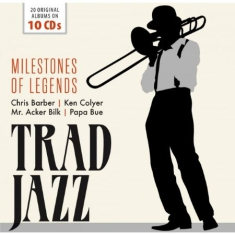 Blandade Artister - Trad Jazz - Milestones Of Legends