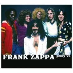 Frank Zappa - Philly '76 (2Cd Live 1976) in the group CD / Pop at Bengans Skivbutik AB (2429218)