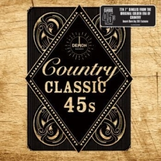 "Blandade Artister - Country Classic 45S (10 X 7"")"