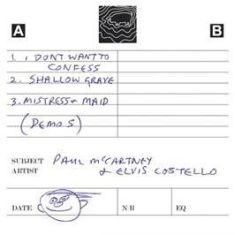 Paul McCartney - Flowers In The Dirt - Cassette Demos in the group Campaigns / Record Store Day / RSD-Sale-Old at Bengans Skivbutik AB (2429693)