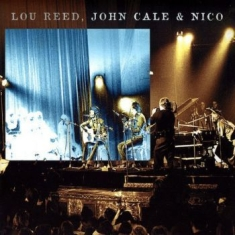 Lou Reed, John Cale & Nico - Live At The Bataclan 1972 (Cd+Dvd)