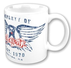 Aerosmith - Property Of Logo Boxed Mug