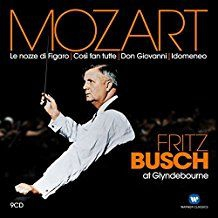 Fritz Busch - Mozart - Fritz Busch At Glynde in the group CD / Upcoming releases / Pop at Bengans Skivbutik AB (2510384)