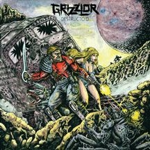 Grizzlor - Destructoid in the group CD / New releases / Hardrock/ Heavy metal at Bengans Skivbutik AB (2540287)