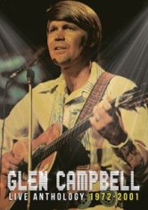 Glen Campbell - Live Anthology 1972-2001 (Cd+Dvd) in the group CD / New releases / Country at Bengans Skivbutik AB (2540307)