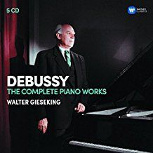 Gieseking Walter - Debussy: The Complete Piano Wo