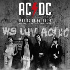 AC/DC - Melbourne 1974 & The Tv Collection