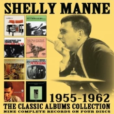 Manne Shelly - Classic Albums Collection The (4 Cd