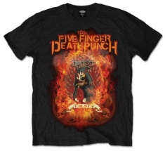 FFDP Burn In Sin Mens Black T-Shirt: Large - T-shirt