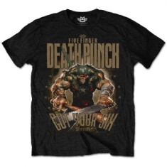 FFDP Sgt Major Mens Blk TS: X Large - T-shirt XL