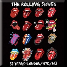 Rolling Stones - Tongue Evolution fridge magnet