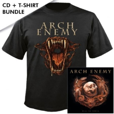 Arch Enemy - Will To Power CD + T-shirt M (Ltd CD Digipak+ T-shirt Medium)