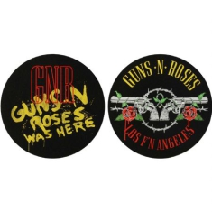 Guns N Roses - Guns N Roses - Los F'N Angeles & Was Here - Slipmat